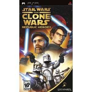 New Lucas Arts Entertainment Star Wars The Clone WarsRepublic Heroes