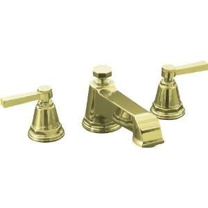 KOHLER Pinstripe French Gold 2 Handle Tub Faucet T13140 4A
