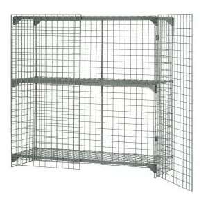 Wire Mesh Security Cage 48x24x48