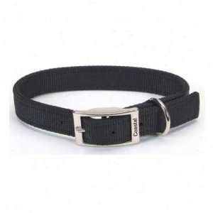 Guardian Gear 28 Inch Double Layer Nylon Dog Collar, Black