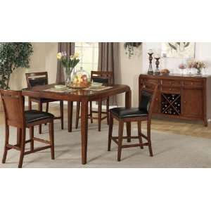5 pc DIning Set 9526 9527 Counter Height Pub Table + 4 Pub