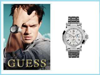 GC,Guess Collection Mens Chronograph Watch G34500G1 NWT