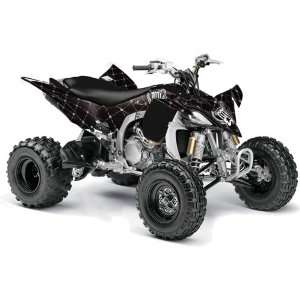 Yamaha YFZ 450 ATV Quad, Graphic Kit   Silver Star Relo Automotive