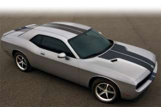 Dodge Challenger Rally Stripes Decal kit 08 09 2010 R/T