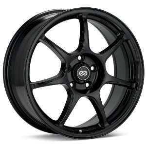 Enkei Fujin (Black) Wheels/Rims 5x100 (468 880 8050BK) Automotive