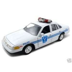 Ottawa Ford Crown Victoria Police Car 124 Diecast Car