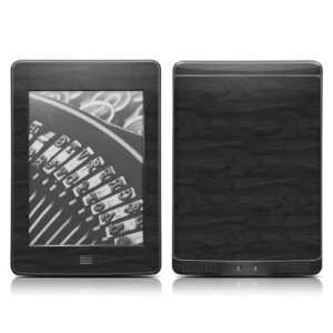 Black Woodgrain Design Protective Decal Skin Sticker for  Kindle