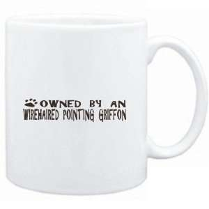 Mug White  OWNED BY Wirehaired Pointing Griffon  Dogs