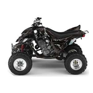 Yamaha Raptor 660 ATV Quad Graphic Kit   Reaper Black Automotive