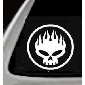 White 5 Vinyl STICKER/DECAL for Cars,Trucks,Trailers,Etc. Automotive