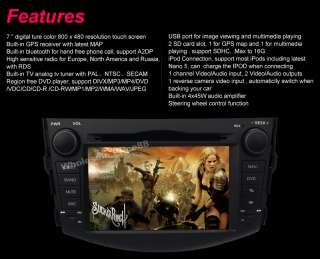 CAR DVD GPS NAVI + Free Map 2GB For TOYOTA RAV4 CDV4