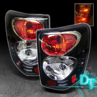 99 04 JEEP GRAND CHEROKEE BLACK ALTEZZA TAIL LIGHTS LEFT+RIGHT