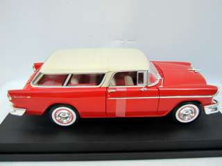 MUSCLE CAR 1955 CHEVY NOMAD BEL AIR MINT 118 DIECAST CHEVROLET