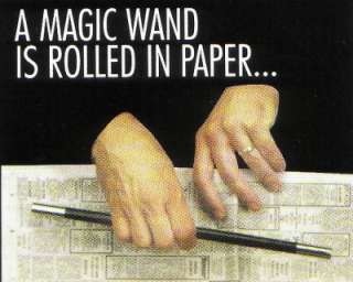 Vanishing & Appearing Wand Easy Magic Trick