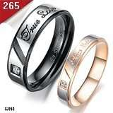 TRUE LOVE STAINLESS STEEL RING FOR MEN AND LADIES NEW MULTIPLE SIZE