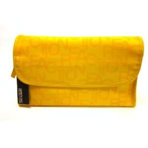 Cole Reaction Yellow Hanging Folding Cosmetic Travel Case Kit Beauty