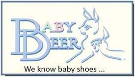 Baby Deer Girls White Sandal w/ Zebra Design & Bow 5