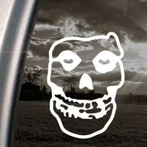 Misfits Decal Skull Punk Car Truck Window Sticker