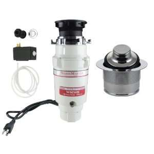 WasteMaster 1/2 HP Disposal with Chrome Air Switch/Flange