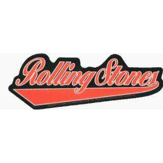 Rolling Stones   Baseball / Athletic Style Logo   Sticker / Decal