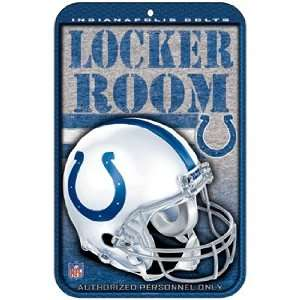 INDIANAPOLIS COLTS Official Team Logo 11 x 17 Plastic