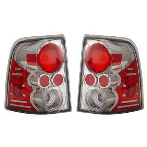 02 05 Ford Explorer Chrome Tail Lights Automotive