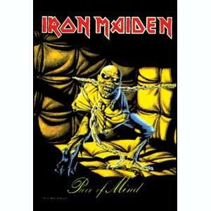 Iron Maiden Cloth Fabric Poster Flag Piece Of Mind