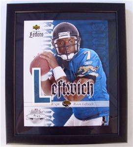 2003 Sweet Spot BYRON LEFTWICH Rookie Auto Patch RC /43