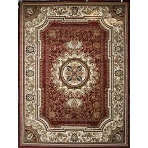 Superior Rugs Red Rug   feraghan4020red   2 x 8 Runner