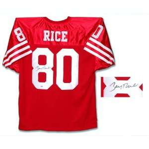 Jerry Rice San Francisco 49ers Autographed Custom Jersey