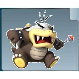 MORTON KOOPA Jr. from Super Mario Bros. vinyl decal