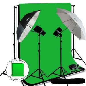 Watt Photo Studio Monolight Flash Lighting Kit   2 Studio Flash/Strobe