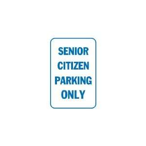 3x6 Vinyl Banner   Senior citizen parking only