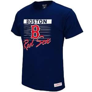 Boston Red Sox Strikeout T Shirt by Mitchell & Ness