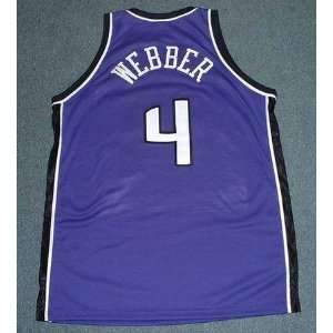 CHRIS WEBBER Sacramento Kings 2002 Reebok AUTHENTIC Away