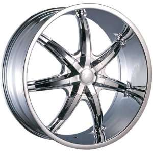 U2 35s Chrome Rims Wheels 18x7.5 Honda Toyota Nissan Chrome Rims 4pc