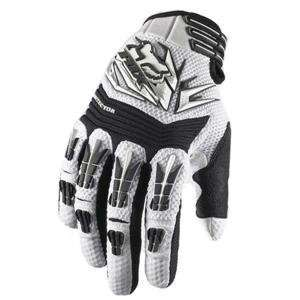 Fox Racing Pawtector Gloves   Small/White Automotive
