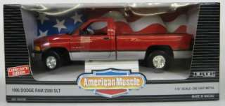 1995 Dodge Ram 2500 SLT Pickup   118 Scale   Ertl   Red