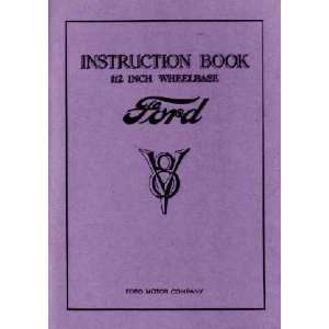 1933 FORD TRUCK Full Line Owners Manual User Guide