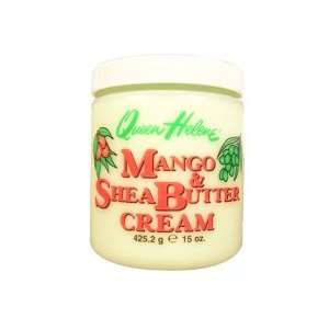 QUEEN HELENE Mango & Shea Butter Cream 15oz/425.2g Beauty