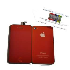iPhone 4S Color Conversion Kit + Tools   Mirror Red