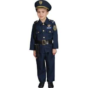 Lets Party By Dress Up America Police Officer Deluxe Toddler Costume