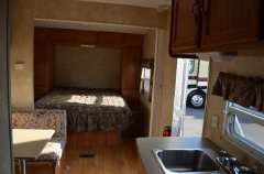 RV Camper 2007 Forest River WILDWOOD 29FB Toy Hauler Travel Trailer RV