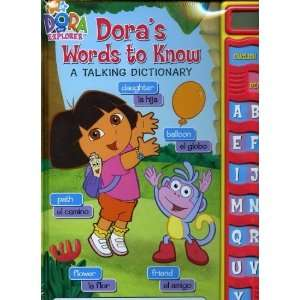 Dora the Explorer Talking Dictionary Nickelodeon Toys & Games