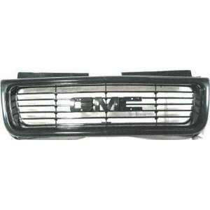 98 04 GMC SONOMA PICKUP GRILLE TRUCK, SL,SLS Model, Black