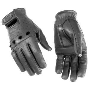 River Road Sturgis Perforated Leather Motorcycle Gloves