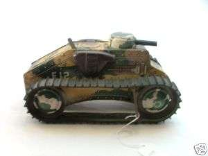 Marx E12 Toy Tank Military Mar Toys Louis Marx