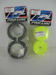 Proline Revolver V3 1/8 Scale Buggy Rear Tire Wheel Set