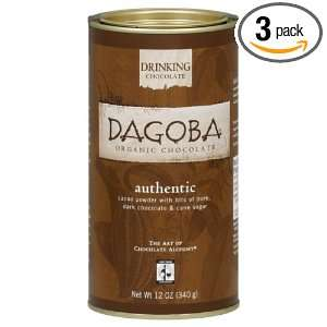 Dagoba Authentic Organic Chocolate, Fair Trade Certified, 12 Ounce