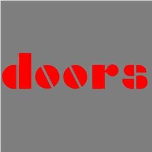 THE DOORS (RED) DECAL STICKER WINDOW CAR TRUCK TRAILER Automotive